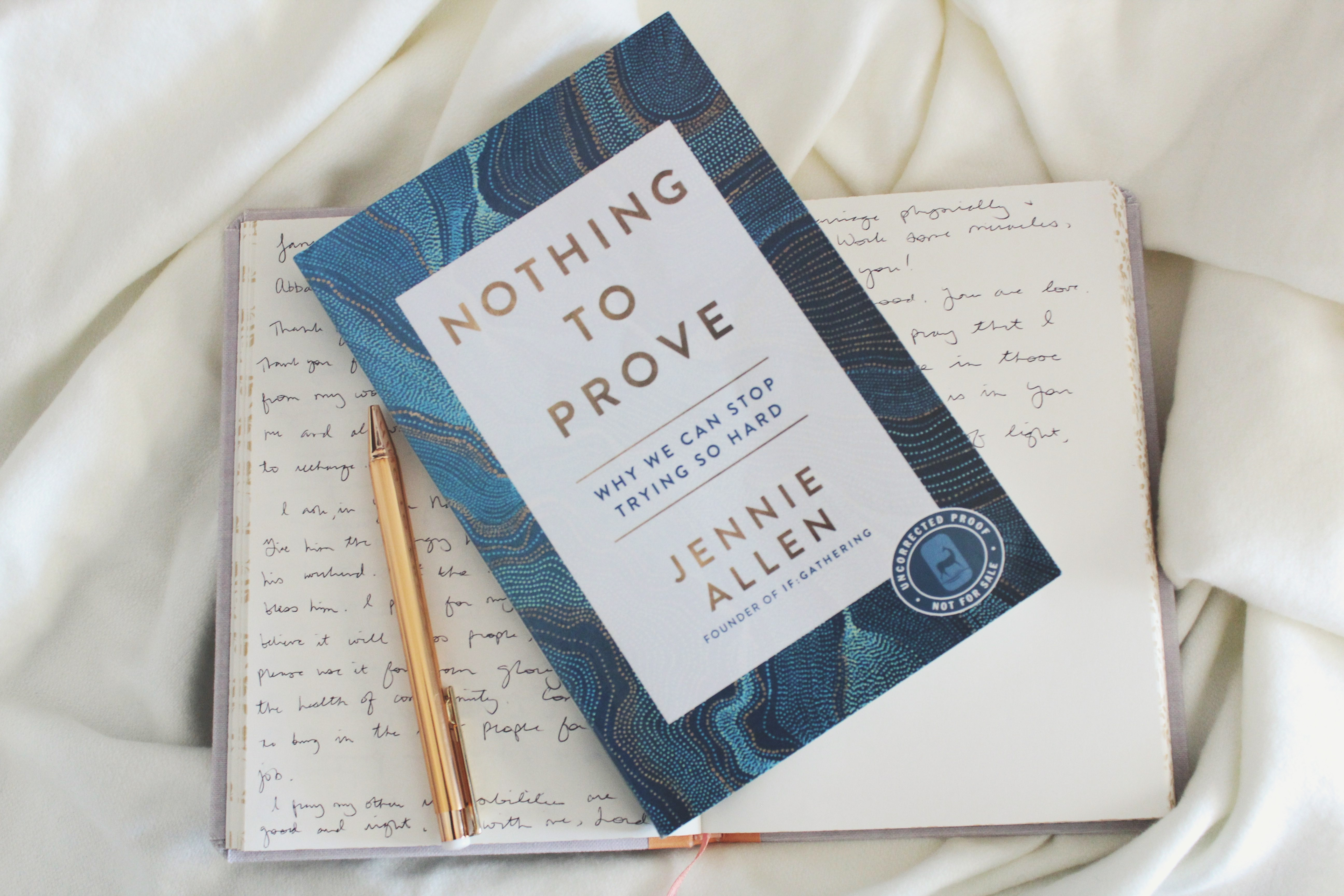Books that Build Relationships: Nothing to Prove