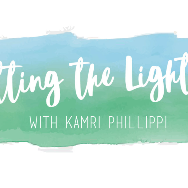 "Join me on ""Letting the Light In"" Podcast: Episode #9"