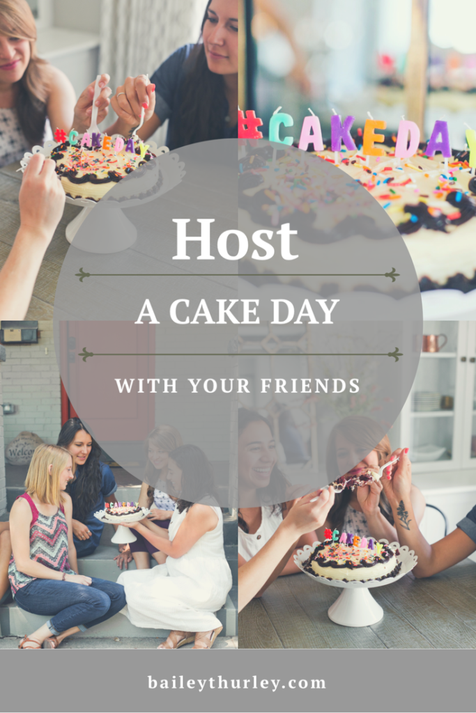 host, celebrate, cake, cake day, friends, candles