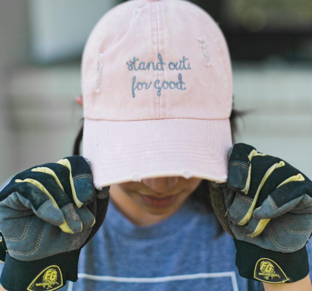 do good, together, hat, service, nonprofit