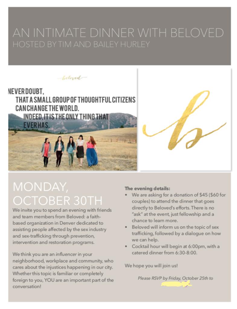 fundraising invite