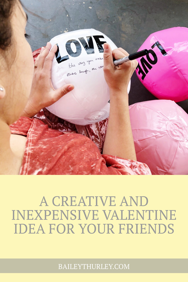 A Creative and Inexpensive Valentine Idea for Your Friends