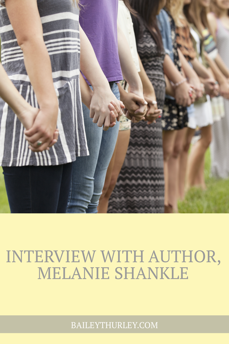 Interview with Author, Melanie Shankle