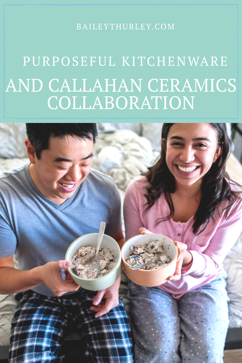 Purposeful Kitchenware and Callahan Ceramics Collaboration