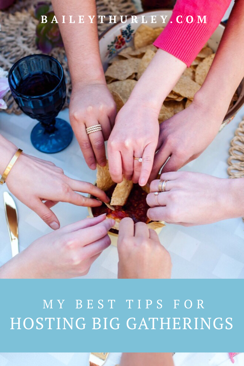 My Best Tips for Hosting Big Gatherings