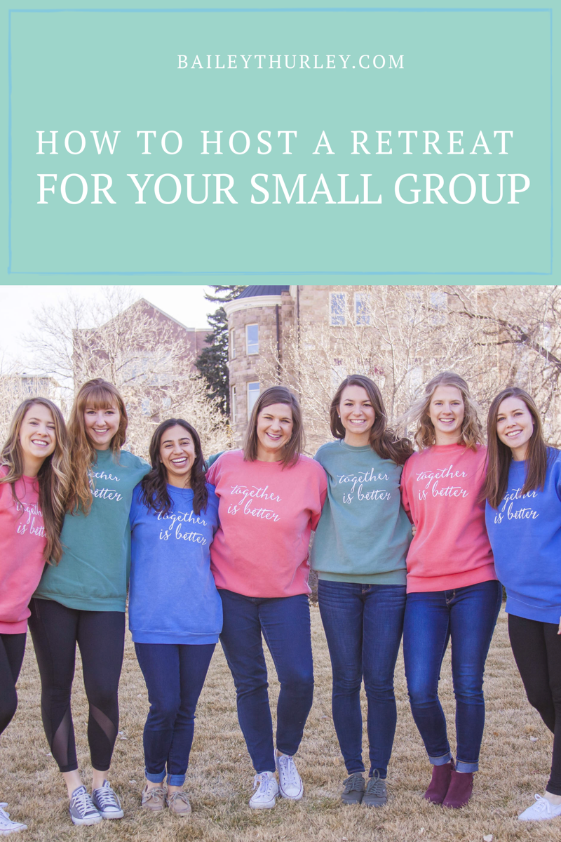 How to Host a Retreat for Your Small Group