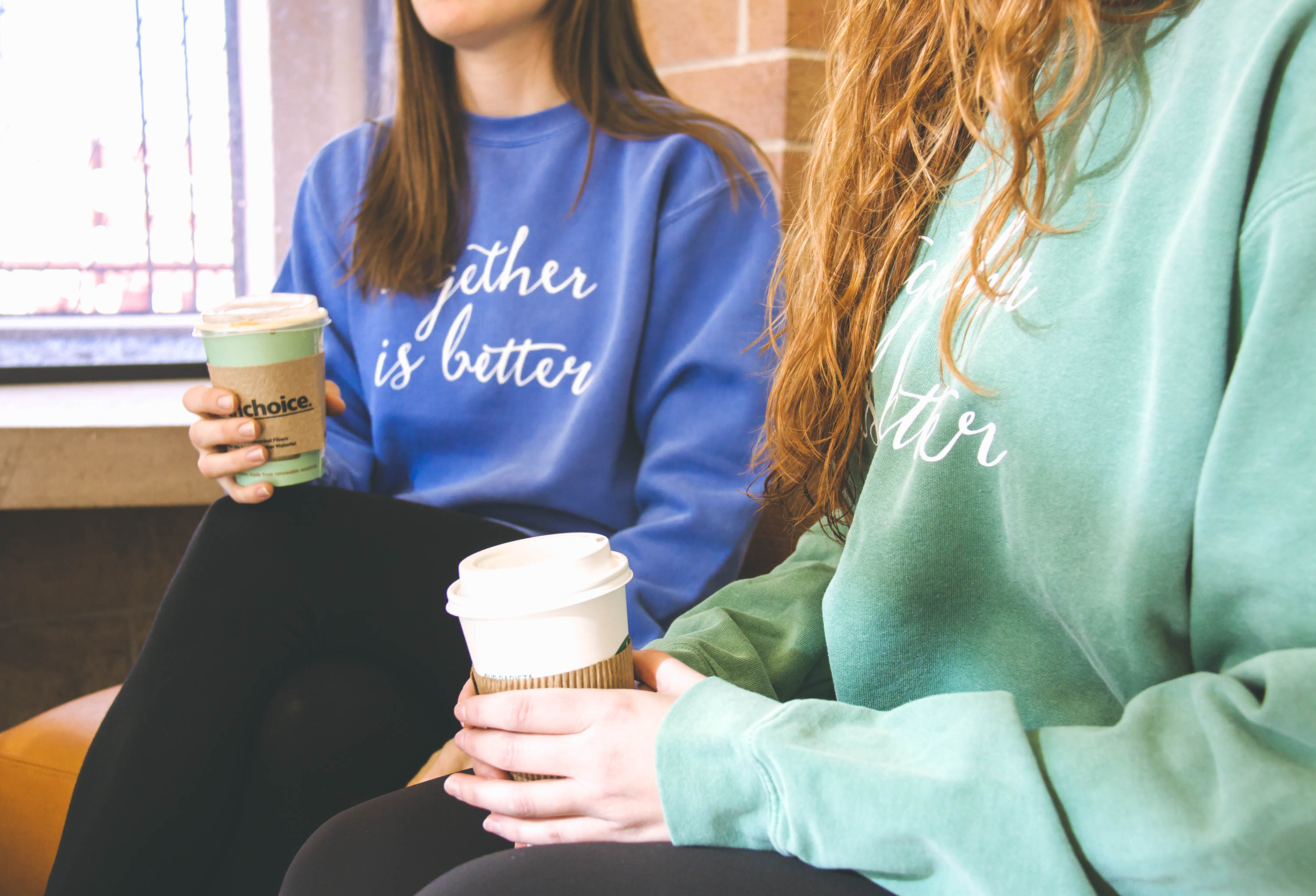 friendship sweatshirt, coffee mugs, difference in 2018