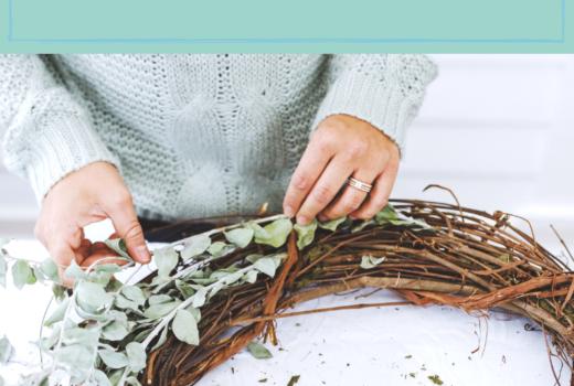 women, retreat, gathering, wreaths, value