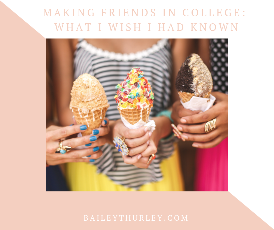 Making Friends in College: What I Wish I Had Known