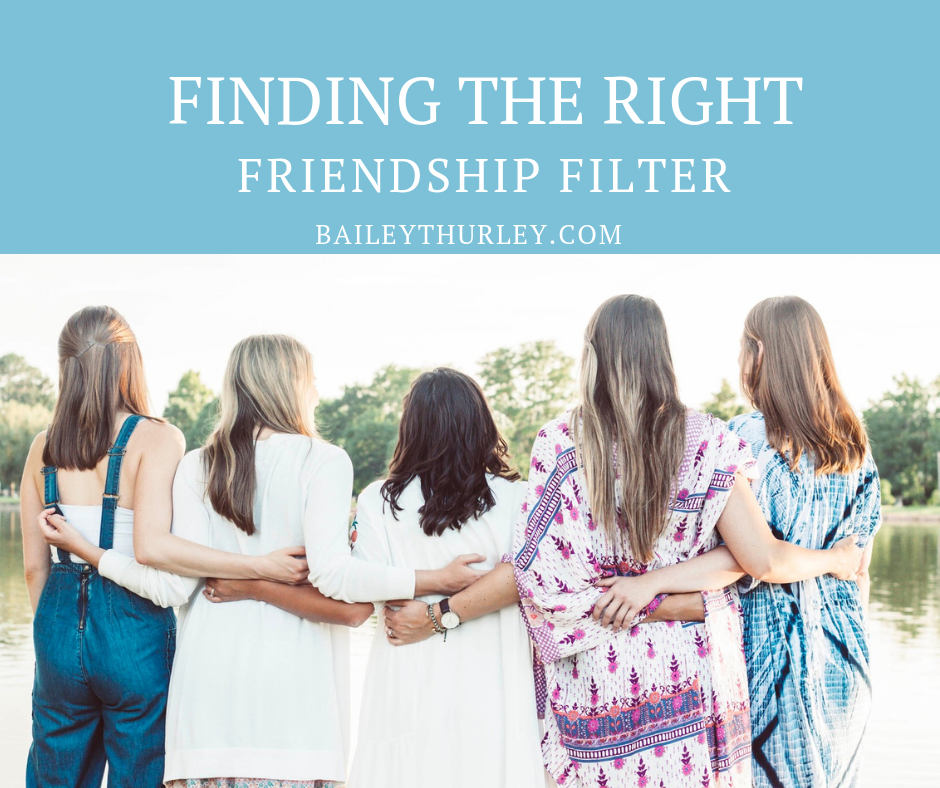 Finding the Right Friendship Filter