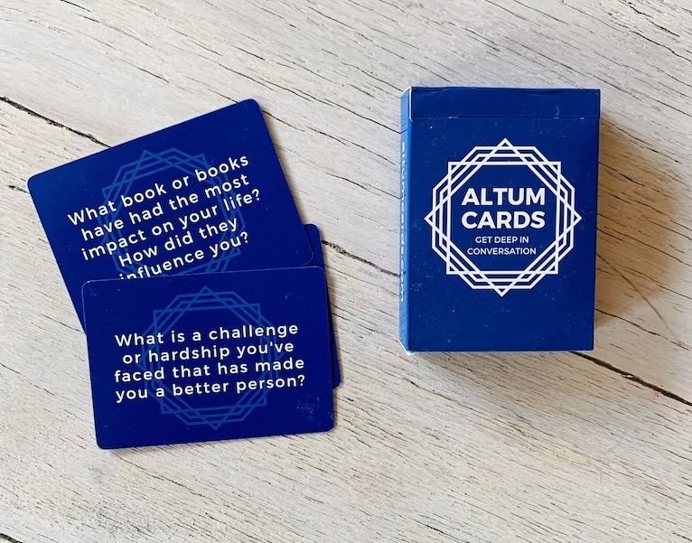 conversation cards for better conversation