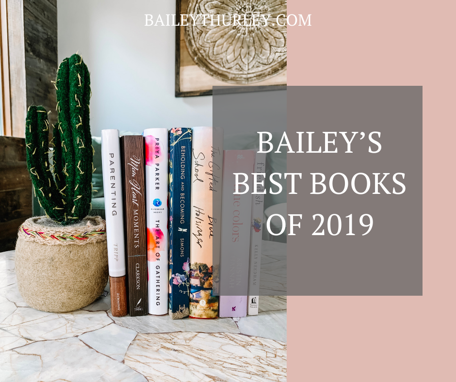 Bailey's Best Books of 2019