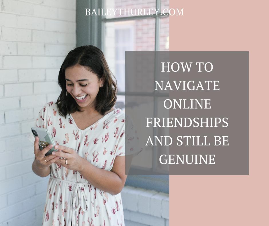 How to Navigate Online Friendships and Still Be Genuine