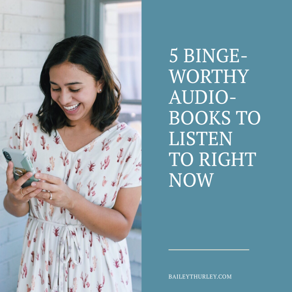 5 Binge-Worthy Audiobooks To Listen to Right Now