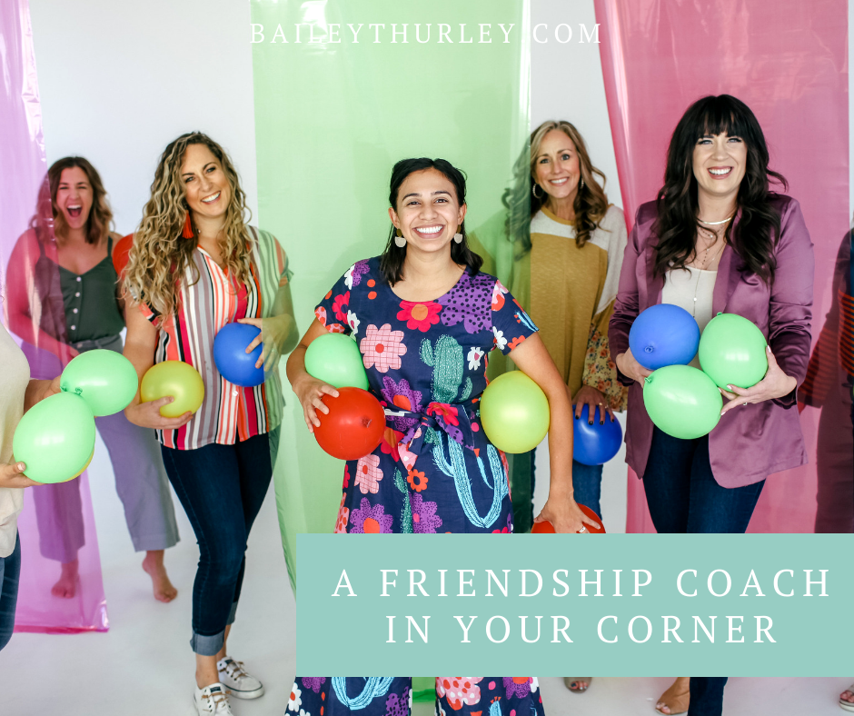 A Friendship Coach in Your Corner