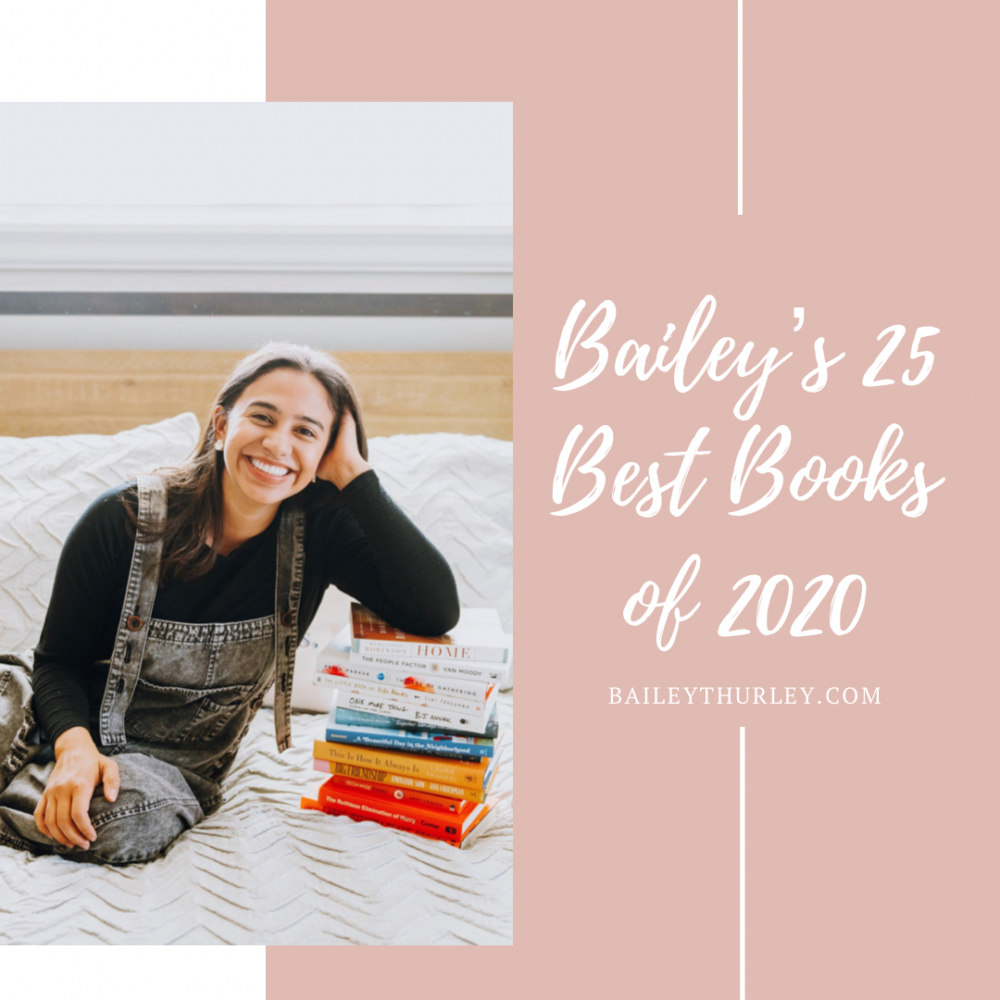 Bailey's 25 Best Books of 2020